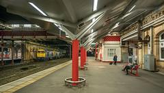 Lure of the Twenties (Kingmoor Klickr) Tags: gordonedgar crewe station 20096 20107 railfreight 6z38 rail dc