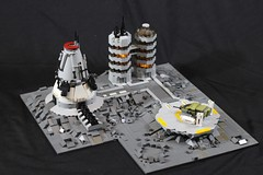 Colony LG-624 (donuts_ftw) Tags: lego space scifi spaceship colony moc aliens