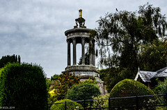 Burns' Monument (BGDL) Tags: lightroomcc nikond7000 bgdl nikkor18105mm3556g urban alloway burnsmonument old week40 weeklytheme flickrlounge