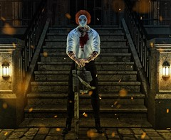Come to visit my home... (ThiegoFire) Tags: terror dark shadows sorumin locktuft home stairs sl secondlife blog pic catwa signature art av bento colorful design exclusive event tdsf backdropcove