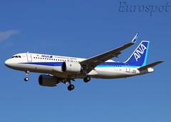F-WWBO Airbus A320 Neo All Nippon Airways (@Eurospot) Tags: lfbo toulouse blagnac allnipponairways airbus a320 neo 320271n 9253 fwwbo ja220a