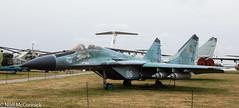 06 White Ukrainian Air Force Mikoyan MiG-29 (Niall McCormick) Tags: oleg antonov state aviation museum kyiv kiev ukraine 06 white ukrainian air force mikoyan mig29 fulcrum
