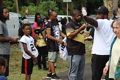 IMG_9312 (Philadelphia Parks & Recreation) Tags: ribbon cutting fairmount park football saints eagles rebuild mayor kenney parksideevans playground practice field athletics sports children coach youth