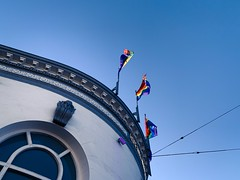 (Sunset38) Tags: hope castrostreet gaysanfrancisco rainbowflag blue castrodistrict gaysf
