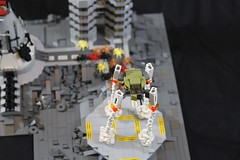 Nuke it from orbit (donuts_ftw) Tags: lego space scifi spaceship colony moc aliens spiders bugs