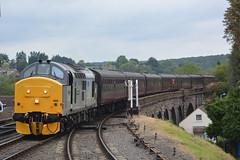 37688 Bewdley 03/10/19 (yamdood91) Tags: 37688 37 class 2019 great rocks bewdley svr severn valley railway diesel gala