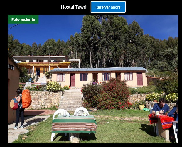 Hostal Tawri Isla del Sol