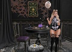 Daddy's Babyghoul.  #Halloween2019 (Lyla Blaylock) Tags: secondlifefashion secondlife sl slfashion anthem candydoll doux chicchica virtualgirls babygirl halloween lumipro