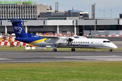 TF-FXA Dash8-402Q  Air Iceland Connect (n707pm) Tags: tffxa dash8 q400 turboprop airport airline aircraft airplane eidw dub ireland collinstown 14092019 cn4022 airicelandconnect dublinairport