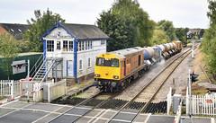 20311 and 20314 at Retford (robmcrorie) Tags: 20311 20314 orange class 20 hnrc retford signal box rhtt nikon d850 thrumpton
