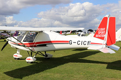 G-CICF (GH@BHD) Tags: gcicf comcoikarus c42fb80 comco ikarus c42 fb80 microlight aircraft aviation laa laarally laarally2019 sywellairfield sywell