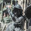 bawarian angel ? (ewaldmario) Tags: bayern brunnenfigur marienplatz muenchen münchen rathaus fountain angel statue square nikon d800 ewldmario dof munich city cityhall bronce closeup composition focus