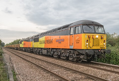 Colas 56049 & 56090 (Barry Duffin) Tags: colas 56049 56090 netherfield 6z72 skegness toton