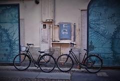 In fila indiana (ornella sartore) Tags: biciclette strada allaperto casale monferrato colori particolari