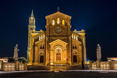 The  Basilica of the National Shrine of the Blessed Virgin of Ta' Pinu, Gharb, Gozo, Malta, 2019 (Ant Sacco) Tags: tapinu gozo malta basilica church gharb