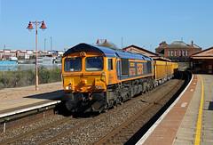 66752 Tyseley (CD Sansome) Tags: tyseley station birmingham train trains gbrf gb railfreight 66 66752 6m40 westbury stud farm cliffe hill shed