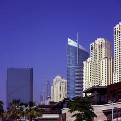 - Dubai Creek - (Tom Findahl) Tags: dubai cityscape veilvia 100f mamiya c330s outdoor sunny
