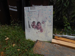 With the Bathwater (navejo) Tags: montreal quebec canada picture photo trash garbage kids babies