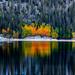 It Was Super Chilly Morning at Lake Sabrina