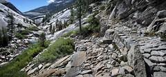 Merced River Trail - Yosemite (Bruce Lemons) Tags: sierra sierranevada mountains backpacking hike hiking wilderness landscape california johnmuirtrail jmt yosemitenationalpark yos yosemite mercedriver bunnellpoint river echovalley mercedlake