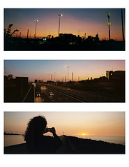 Summer nights (Peter Bruijn) Tags: summer night nights hot warm evening gold goldenhour hour sunset sun sunsets xpan xpan45mm hasselbladxpan hasselblad panorama panoramic panoramacamera 35mm 35mmphotography 35mmphoto 35mmfilm 35mmanalog 135film lomo lomo800 lomography lomography800 analog analogue analogphotography analogfilm analogphoto analoog film filmisnotdead filmphotography filmphoto filmcamera c41 c41film colorfilm color triptych tryptich collection