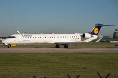 Lufthansa CityLine_Bombardier CRJ-900LR_D-ACKH. (Josh Greenall Aviation Photography) Tags: lufthansa bombardier plane aviation manchester egcc jet