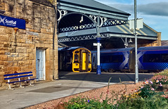 An Evening In Perth (whosoever2) Tags: uk united kingdom gb great britain scotland sony dscrx100m3 train railway railroad september 2019 perth station kinross 158712 class158 170426 class170