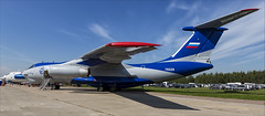 Ilyushin Il-76LL - 03 (NickJ 1972) Tags: maks zhukovsky airshow 2019 aviation ilyushin il76 candid flying laboratory testbed engine ra76529