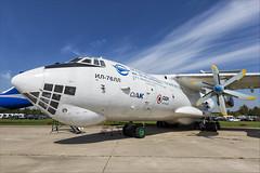 Ilyushin Il-76LL - 04 (NickJ 1972) Tags: maks zhukovsky airshow 2019 aviation ilyushin il76 candid flying laboratory testbed engine ra76492
