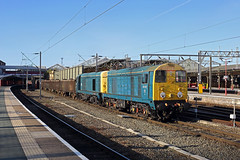 20107+20096 Crewe 2nd October 2019 (John Eyres) Tags: more 20 acton crewe this time daylight 6z36 1541 basford hall ssm pinnox branch esso sidings longport 021019 20096 20107