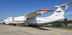 Ilyushin Il-76LL - 01 (NickJ 1972) Tags: maks zhukovsky airshow 2019 aviation ilyushin il76 candid flying laboratory testbed engine ra76492