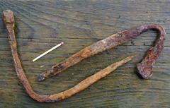 nails from around 1600..... (KvikneFoto) Tags: nikon1j2 historie history kvikne yset hedmark norge storesvergjesjø