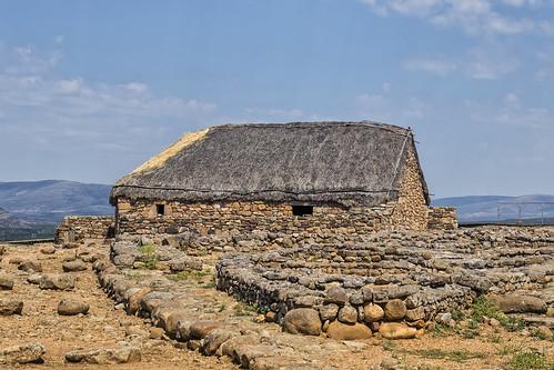Casa de época romana en Numancia (3)