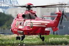 JA119Y Tokyo Heliport 26 September 2019 (ACW367) Tags: ja119y eurocopter ec225lp superpuma2 tokyofiredepartment tokyo heliport