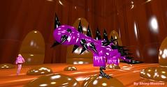 Big latex dino (Shiny moniree in sl 5) Tags: big latex dino moniree madeoflatex madeofrubber naughty naughtylatexgirl naughtygirl fetish fantasy latexy life latexworld latexland latexskin latexobsession latexhair rubber rubbery rubberskin rubberland rubberworld rubberhair purple squeaky squeak squeaking dinosaur dinosaurs second secondlife brown cute barbie sexy shine gloss glossy girl girly girls doll dolly dolls hot hottie hottest sl cg cgi art ll vvb poc kk