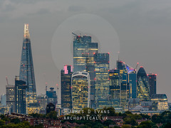 The City from Norwood Park (James D Evans - Architectural Photographer) Tags: architectural architecturalphotography architecture building buildings builtenvironment constructed constructions structure thebuiltenvironment urban norwoodpark cityoflondon london cluster skyscraper skyscrapers