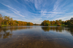 Shibaevsky Pond (gubanov77) Tags: nature moscow russia kuzminki autumn sky water pond landscape shibaevskypond