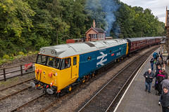 03.10.19 | 50033, Highley Severn Valley Railway (Jamie A. Hunter) Tags: canon canonphotography canoninc canonef24105mmf4lisusm canoneos5ds class50 50033 glorious diesel dieselgala digital englishelectric worcestershire severnvalleyrailway severn semaphore semaphoresignal railway railways railwaystation rail d433