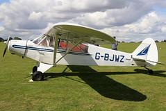 G-BJWZ (GH@BHD) Tags: gbjwz piper pa18 pa1895 supercub laarally2019 pipercub cub aircraft aviation laa laarally sywellairfield sywell