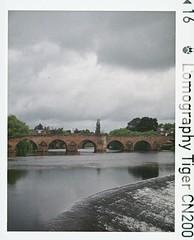 Devorgilla I (bigalid) Tags: film 110 minolta autopak pocket 470 lomographytiger200cn c41 june 2019 dumfries river nith devorgilla bridge