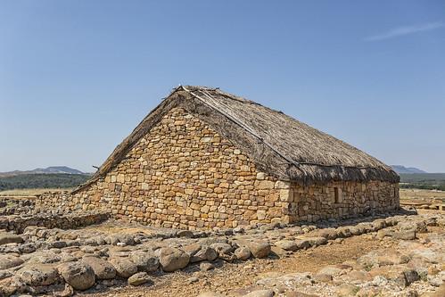 Casa de época romana en Numancia (1)