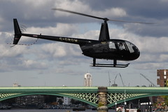 G-CROW Robinson R44 Raven at EGLW (yyzgvi) Tags: gcrow robinson r44 raven eglw london heliport battersea hover helicopters helicopter