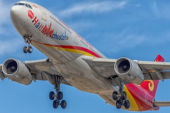 Hai!MANchester (Wee in YYC) Tags: b8287 hainanairlines a333 airbus cyyc yyc
