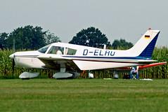 D-ELAU   Piper PA-28-140 Cherokee [28-7325296] Tannheim~D 24/08/2013 (raybarber2) Tags: 287325296 airportdata cn287325296 delau edmt filed flickr germancivil planebase raybarber single