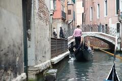 Gondolier (Colin P2009) Tags: water italy venice gondolier canal bridge gondola
