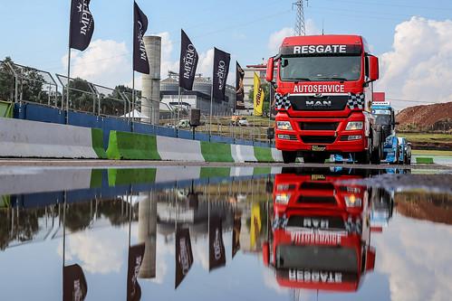 03/10/19 - Bastidores da chegada da Copa Truck em Cascavel - Fotos: Duda Bairros e Vanderley Soares
