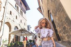 Italian Holiday of Honey Linden 10 (toriasoll) Tags: italy tuscany bjd abjd doll dollphotography fairyland minifee minifeechloe mnf mnfchloe chloetan fairylandbjd dollfairyland