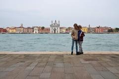 The Kids On Giudecca (Joe Shlabotnik) Tags: canal venice everett april2019 church giudecca venezia italia violet italy 2019 chiesa afsdxvrzoomnikkor18105mmf3556ged
