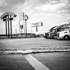 X1004753-2 (alhawley) Tags: american americana bw usa acros blackandwhite candid everytownusa fujifilmx100f incar monochrome mundane street streetphotography