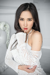 Wendy (Francis.Ho) Tags: wendy xt2 fujifilm girl woman female femme lady portrait people beauty pretty lips eyes hair face elegant glamour young sensuality fashion naturallight fashionable attractive stylish pajamas lingerie body sexy panties underwear lace